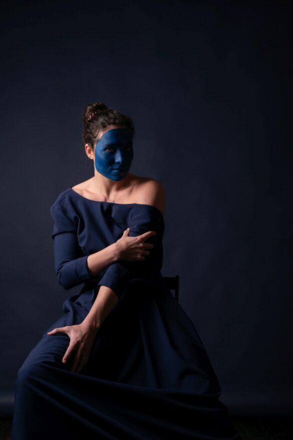 Етюд в синіх тонах