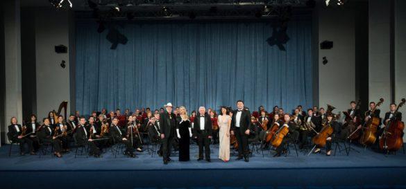 Зйомка оркестра